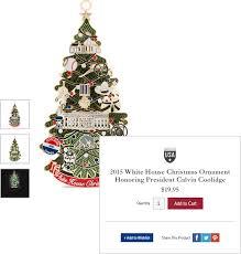 White House Christmas Ornament - o3 case study white house historical association