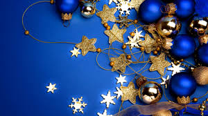 Blue Christmas Theme Decorations by Latest Christmas Wallpaper 2014 Christmaswallpapers18