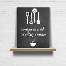 tableau design pour cuisine tableau en ardoise pour cuisine inspirations et tableau citation