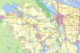 Portland Metro Map by 2018 Regional Transportation Plan Metro