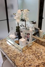 vanity trays for bathroom vanity decoration