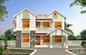 front side elevation house kerala home design floor plans
