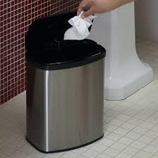 home zone trash cans home goods trash can nine stars motion sensor