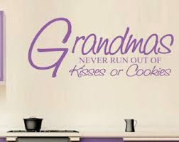 grandma wall decal etsy