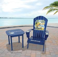 amazon com margaritaville outdoor adirondack chair castaway bay