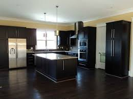 dark kitchen cabinets with light hardwood floors u2013 quicua com