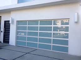 insulated glass garage doors modern simple sizes s f white
