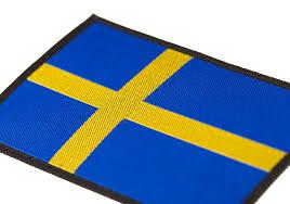 Sweden Flag Image Sweden Flag Patch Color Identification Equipment Clawgear