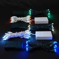 battery powered xmas lights outdoor christmas led lights battery operated spurinteractive com