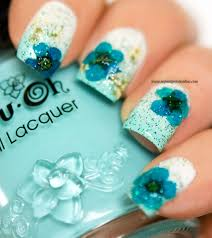 elegant designs nail art flowers images gallery trendy modscom