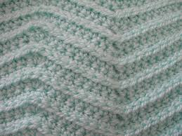 zig zag knitting stitch pattern zig zag stitch left handed crochet tutorial youtube