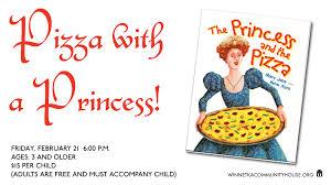 pizza with a princess winnetka community house