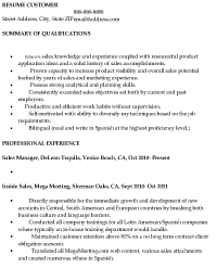 Salesperson Resume Example by Sample Sales Resume Resume Express