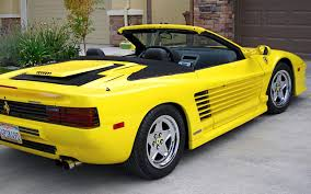 ferrari yellow and black old and beautiful ferrari car pictures and wallpapers
