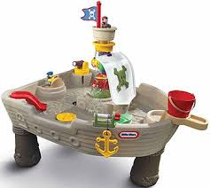 water table for 5 year old water play pirate ship 67 49 great for babies as young as 9