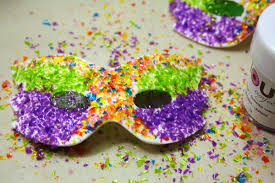 Where To Buy Edible Glitter Easy Mardi Gras Masks By Lisa Bugeja Sugared Productions Blog