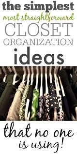 one organization closet organization ideas simple and straightforward the creek