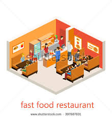 Fast Food Restaurant Floor Plan Fast Food Restaurant Building Stock Images Royalty Free Images
