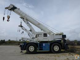 tadano tr 500xl 50 ton rough terrain crane crane for sale on