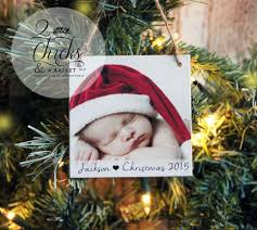 personalized christmas ornament photo ornament baby u0027s first