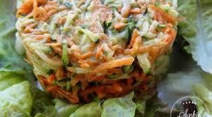 avocat cuisine salade carottes courgettes sauce avocat la tendresse en cuisine