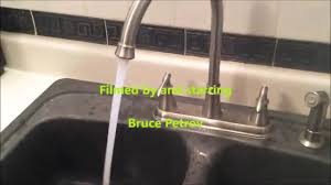 Clogged Kitchen Faucet by How To Repair Your Clogged Faucet Aerator Youtube
