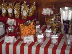Circus Candy Buffet Ideas by Circus Carnival Candy Buffet Madison U0027s 5th Pinterest Candy