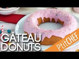 donuts hervé cuisine recette de gâteau donut ptitchef com