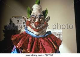Killer Klowns Outer Space Halloween Costumes Movie Scene Killer Klowns Outer Space 1988 Stock Photo