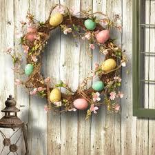 easter wreath easter wreaths florals you ll wayfair