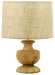 Traditional Table Lamps For Bedroom - table lamp french country solid oak urn lamp traditional table