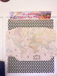 World Map Push Pin Board by Classroom Decorations A Dilettante Of Fruition