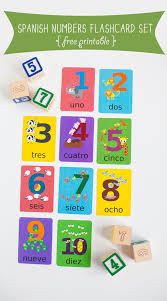 70 best spanish colors and spanish numbers images on pinterest