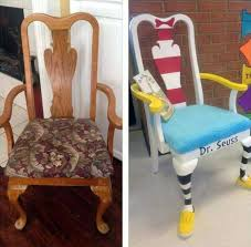 Painted Chairs Images Best 25 Birthday Chair Ideas On Pinterest 1st Birthday