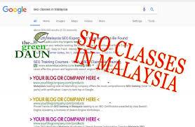online seo class seo classes in malaysia green daun