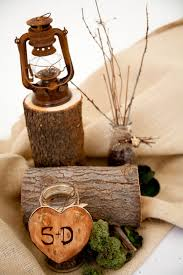 wood centerpieces brilliant wood wedding decorations wood wedding centerpieces the