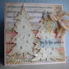 Shabby Chic Christmas Tree by 219 Best Shabby Chic Christmas Cards Images On Pinterest