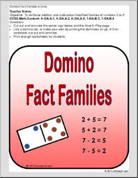 subtraction subtraction worksheets with dominoes free math
