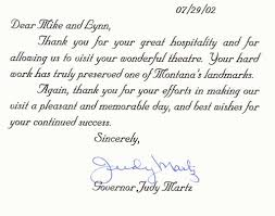 28 thank you letter to event staff testimonials thank you
