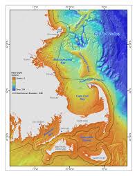 massachusetts bay sea floor map cape cod u2022 mappery