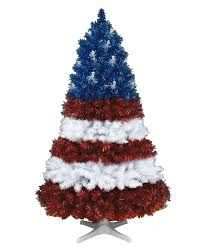 Blue Flag With Stars Stars And Stripes Christmas Tree Treetopia