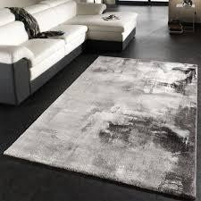 designer teppich teppich modern designer teppich leinwand optik grau real