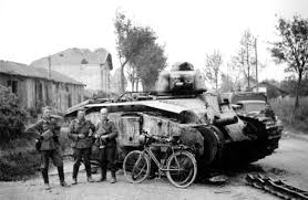 french renault tank a char b1 bis u0027201 u0027 disabled in 1940 during battle of france ww2