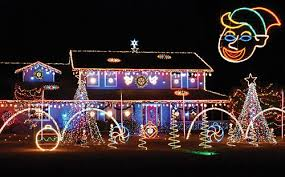 christmas display in the tiny town of cornville arizona dave