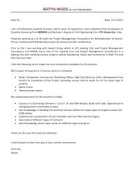 senior quantity surveyor resume sample contegri com