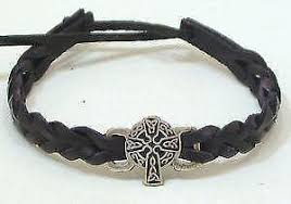 leather charm bracelet ebay images Celtic bracelet ebay JPG