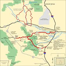 americas byways frontier pathways scenic and historic byway map america s byways