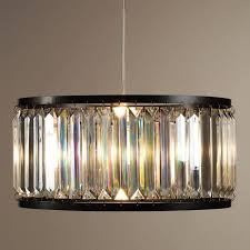 Drum Pendant Lights Acrylic Drum Pendant L World Market
