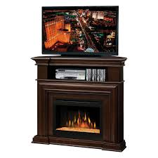 dimple corner electric fireplace tv stand corner electric