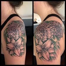 26 best beautiful ink images on pinterest dahlias tattoo ideas